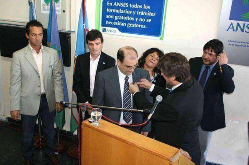El Director de ANSES, Amado Boudou, puso en funciones al nuevo Jefe local Alberto Armesto