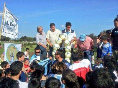 Curuchet y Rodríguez junto al deporte marplatense