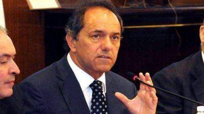 """Crimen del intendente: para Scioli fue """"una locura"""""""