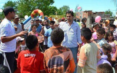 San Isidro: Cafiero en jornada de inclusión social y deportiva en Beccar