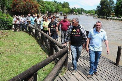 Tigre: El Frente Renovador llevó sus propuestas a los vecinos de Islas