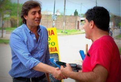 Leonardo Boto y su lista del FPV recorrieron los barrios y localidades