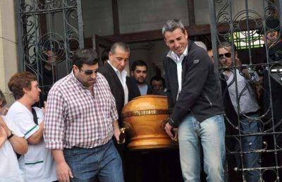 Despidieron los restos del intendente de Lobería