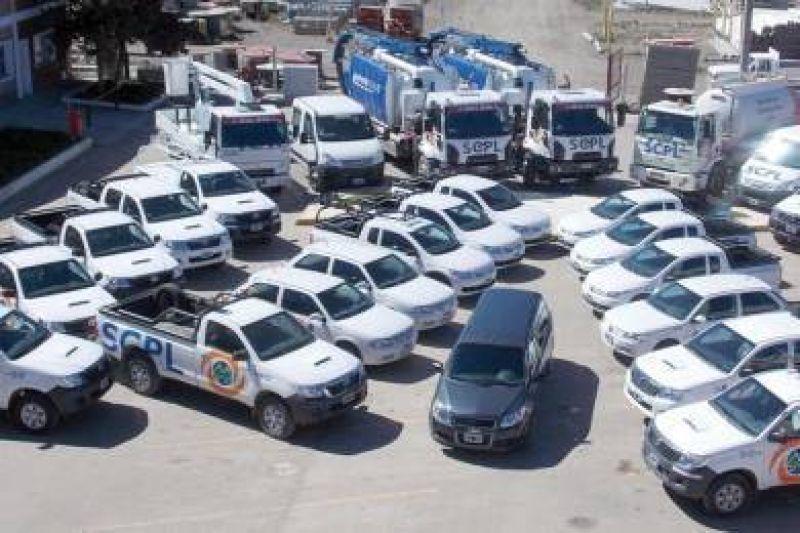 La SCPL incorporó nueva flota vehicular