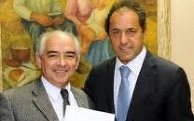 Asesinato del Intendente Rodr�guez en Lober�a: Scioli envi� su p�same por Twitter