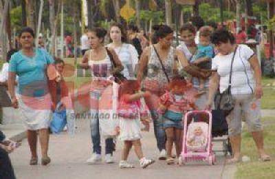 Un Día de la Madre, a pleno en la ciudad