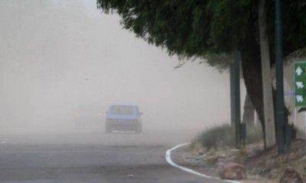 Nuevas ráfagas de viento provocaron inconvenientes en el Gran Mendoza
