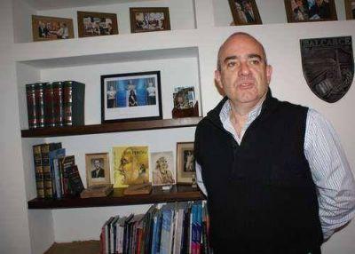 Echeverría conmovido, se solidarizó con la familia del intendente de Lobería asesinado el sábado