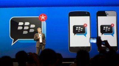 BlackBerry Messenger para Apple y Android ya está disponible