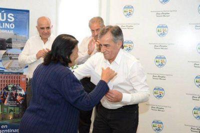 Cariglino encabez� una nueva entrega de subsidios PROMUNIF