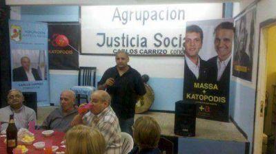 La Agrupación Justicia Social celebró el Día de la Lealtad