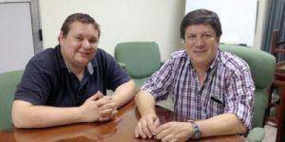 Marcos Amarilla se reunió con Fredy Vera en la Cámara de Comercio