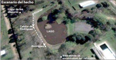 Hugo Rodr�guez habr�a recibido cuatro balazos y uno fue mortal