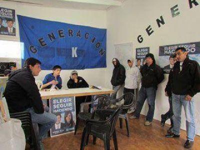Gómez Bull recorrió locales y destacó la militancia