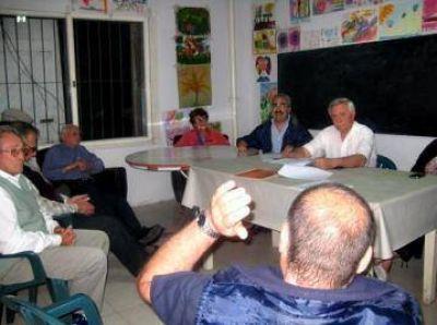 El Frente Progresista se reunió con juntas vecinales