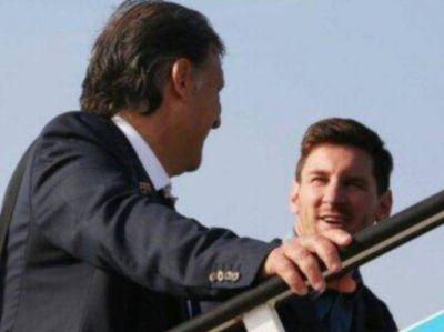 El Tata Martino y Lio Messi hablaron sobre lo que fue el clásico rosarino
