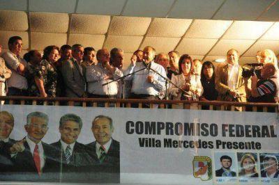 Compromiso Federal presentó sus candidatos en Villa Mercedes