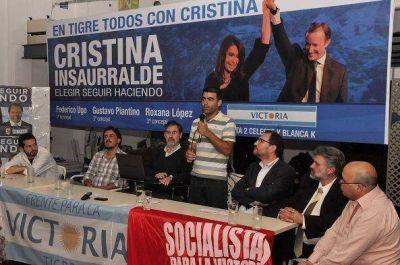 Jorge Rivas apoyó al FPV de Tigre