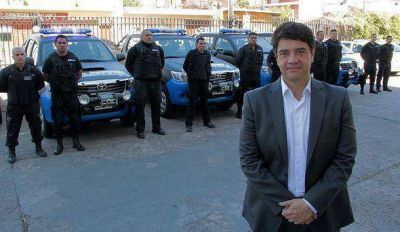 Jorge Macri present� un nuevo cuerpo de patrullas de seguridad