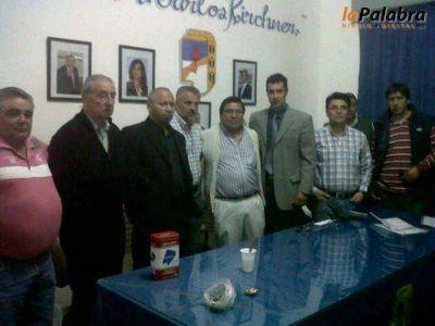Gremios manifiestan su apoyo al proyecto del Frente para la Victoria en Patagones