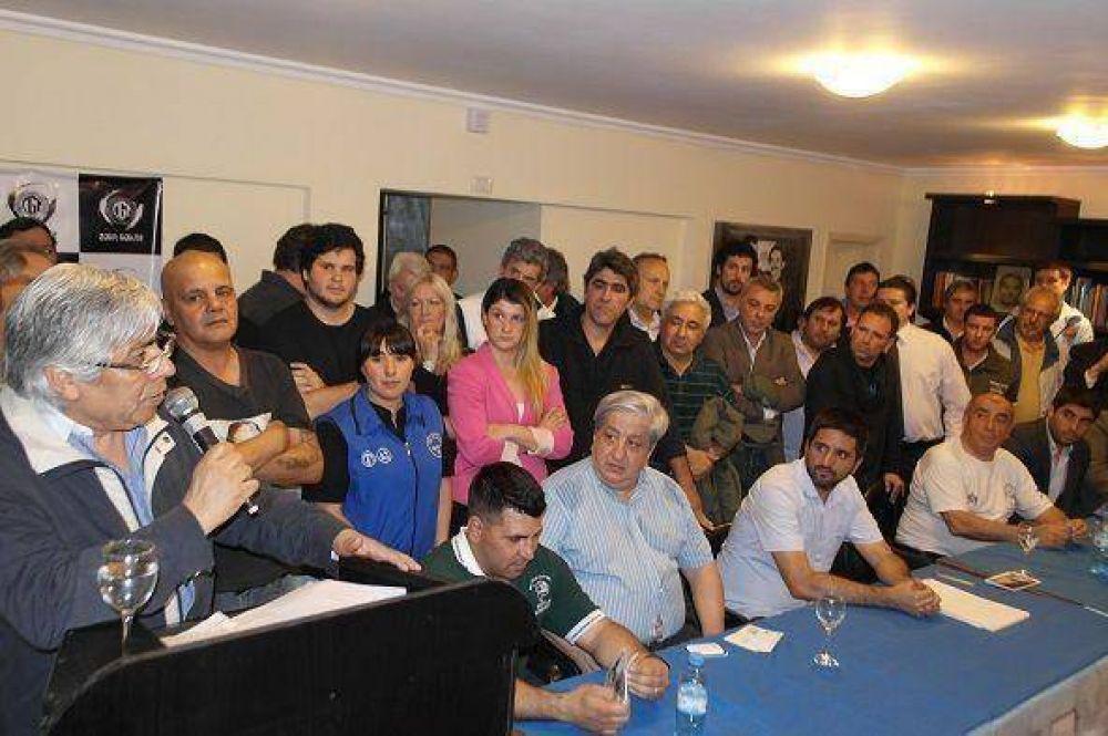 Moyano inauguró la nueva sede para la CGT Zona Norte en San Fernando