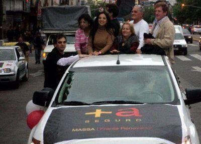 Caravana massista en San Isidro