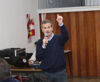 """Mario Bracciale remarcó la """"necesidad"""" de equilibrar el HCD y detalló algunas de las propuestas de Unidos por Tandil"""