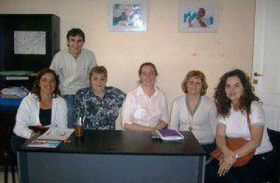 Los candidatos a Consejeros Escolares del FpV se reunieron con SOEME