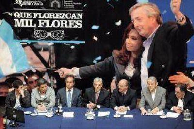 Emotivo homenaje a Kirchner en el Congreso, a tres años de su muerte