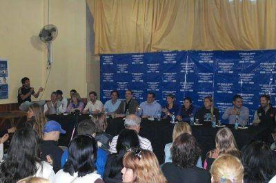 El FPV de San Isidro cerró campaña