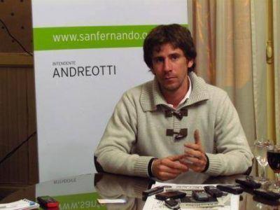 """Juan Andreotti """"la obra pública es el motor de nuestra gestión"""""""