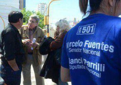 Fuentes arremetió contra el MPN y el quiroguismo