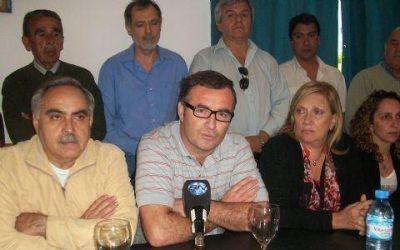 Con los dirigentes reunidos, el FpV cerró la campaña