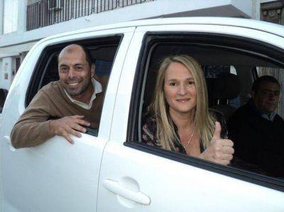 El FPCS cerró la campaña electoral con una caravana