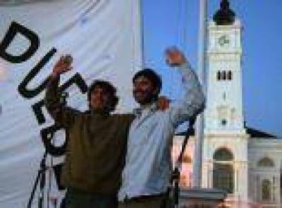 """La Plata: Cerró Ciudad Nueva y promete """"dar un batacazo"""" con el corte de boleta"""