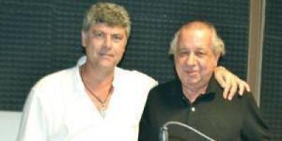 D�az Roig y Buryaile cerraron su campa�a en Radio Uno