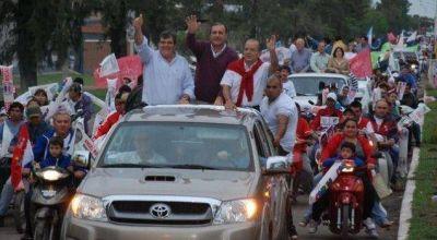 Unión por Chaco de caravana por Sáenz Peña