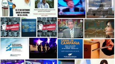 Sin regulaci�n, en Twitter y Facebook sigue la campa�a