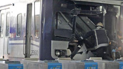 El motorman violó ocho veces la velocidad máxima entre Moreno y Once antes de chocar