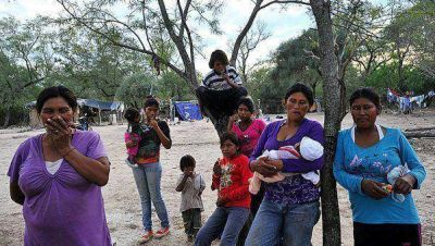 Cuatro detenidos por la muerte del bebé qom