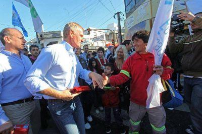 """De Narváez señaló como principal objetivo """"devolverle la seguridad a la gente"""""""