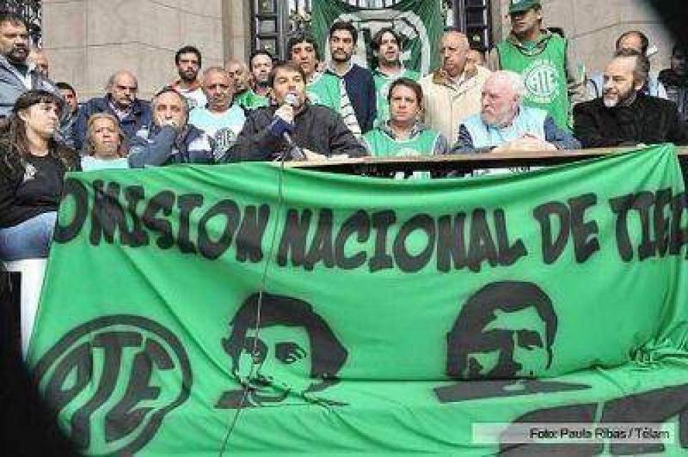 ATE repudió la querella de la Policía Metropolitana al dirigente Daniel Catalano