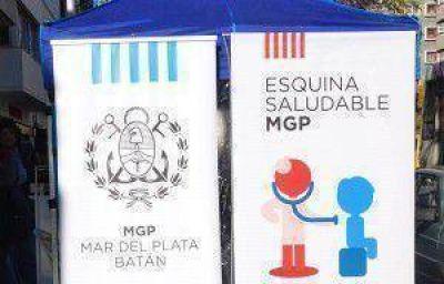 La Municipalidad propone dos nuevas Esquinas Saludables desde el lunes