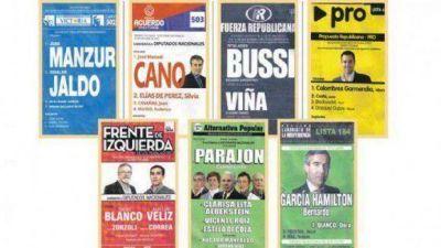 Los tucumanos elegirán a cuatro diputados en medio de un raro clima electoral