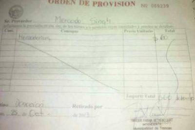 Polémica en Trancas por la entrega de órdenes para canjear por mercadería