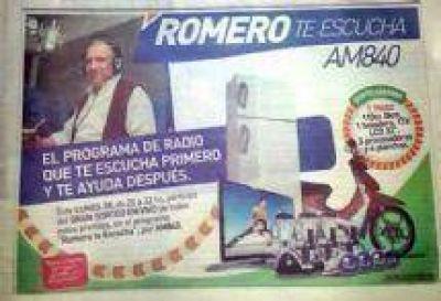 El Partido Justicialista denunció que Juan Carlos Romero violó la veda electoral con El Tribuno