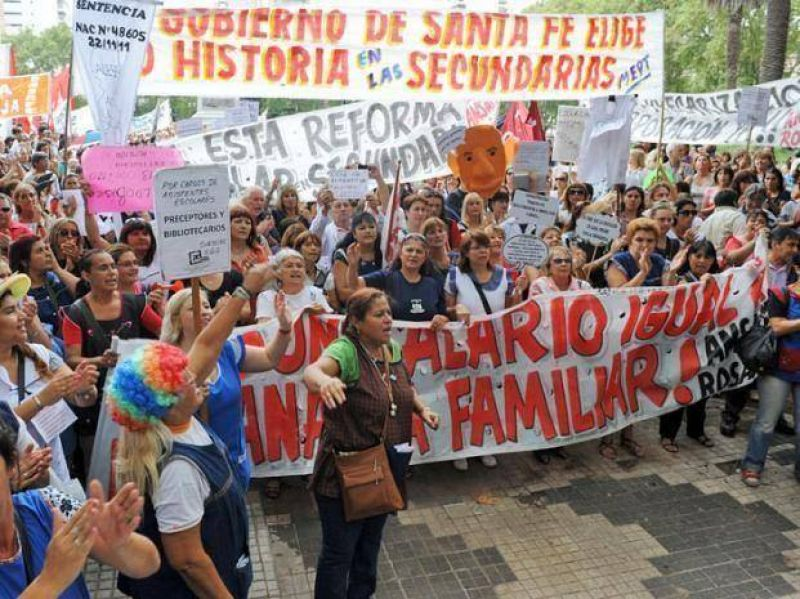 """Amsafé pide discutir salarios """"urgente"""" y aumento de presupuesto"""