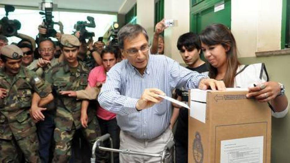 San Juan: votó el diputado que sobrevivió al accidente por el que Gioja está grave