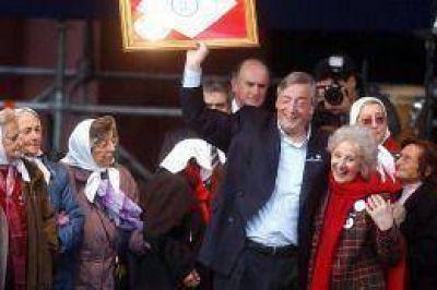 Dirigentes y candidatos evocaron la figura de Néstor Kirchner