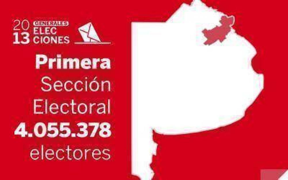 Elecciones Generales 2013: Resultados oficiales en la Primera Sección Electoral